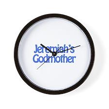 Jeremiah's Godmother Wall Clock