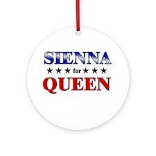 SIENNA for queen Ornament (Round)