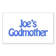 Joe's Godmother Rectangle Decal