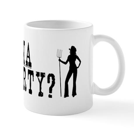 Wanna get dirty? Sexy cowgirl. Mug