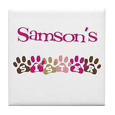 Samson's Sister Tile Coaster