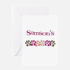 Samson's Sister Greeting Card