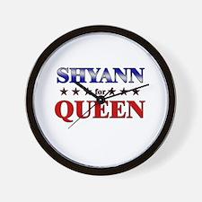 SHYANN for queen Wall Clock