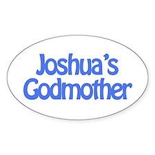 Joshua's Godmother Oval Decal