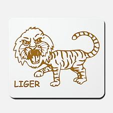 Retro Liger Mousepad