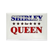 SHIRLEY for queen Rectangle Magnet
