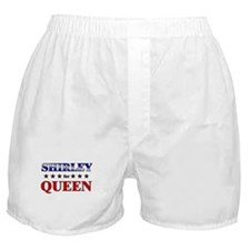 SHIRLEY for queen Boxer Shorts