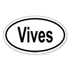 VIVES Oval Decal