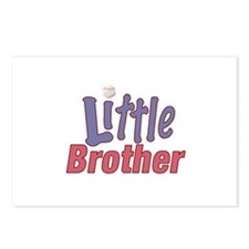Little Brother (Baseball) Postcards (Package of 8)