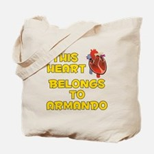 This Heart: Armando (A) Tote Bag