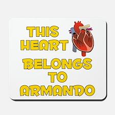 This Heart: Armando (A) Mousepad
