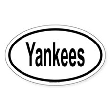YANKEES Oval Decal