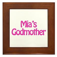 Mia's Godmother Framed Tile