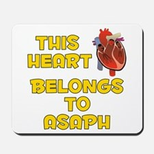 This Heart: Asaph (A) Mousepad