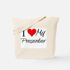 I Heart My Presenter Tote Bag