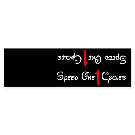 Single speed cycles steel frame Sticker (downtube)