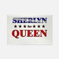 SHERLYN for queen Rectangle Magnet