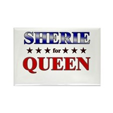 SHERIE for queen Rectangle Magnet (10 pack)