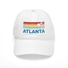 Retro Palm Tree Atlanta Baseball Cap