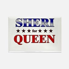 SHERI for queen Rectangle Magnet
