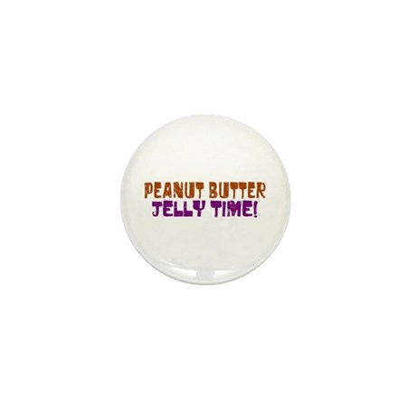 Peanut Butter Jelly Time Mini Button (100 pack)