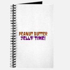 Peanut Butter Jelly Time Journal