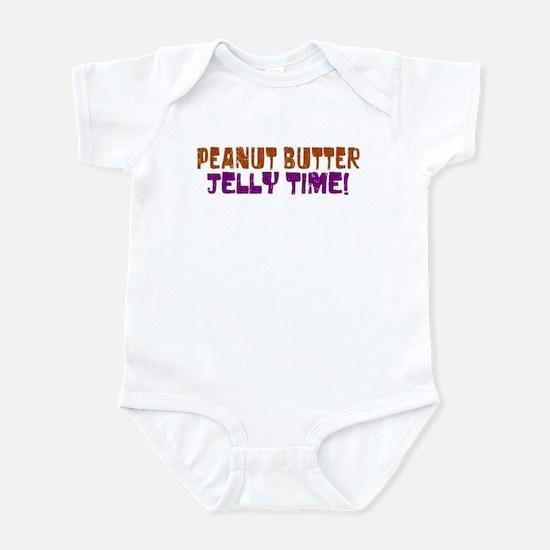 Peanut Butter Jelly Time Infant Bodysuit