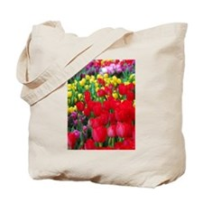 Tulip Riot Tote Bag