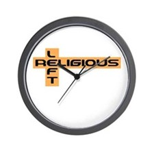 Religious Left Wall Clock