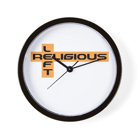 Religious Left Wall Clock