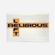 Religious Left Rectangle Magnet