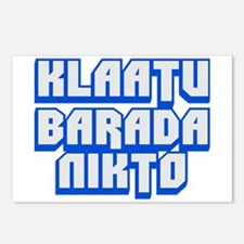 Klaatu barada Nikto #2 Postcards (Package of 8)