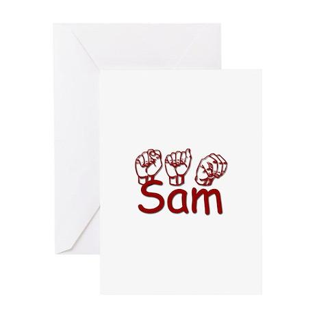Sam Greeting Card