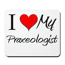 I Heart My Praxeologist Mousepad