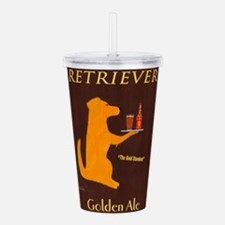 Retriever Golden Ale Acrylic Double-wall Tumbler