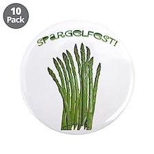 "Spargelfest! 3.5"" Button (10 pack)"