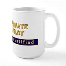 FAA Certified Private Pilot Mug