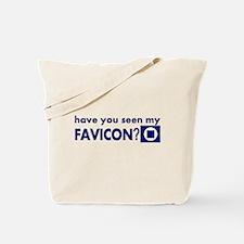 favicon t-shirt Tote Bag