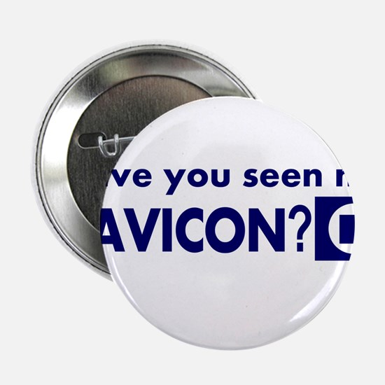 "favicon t-shirt 2.25"" Button"