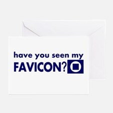 favicon t-shirt Greeting Cards (Pk of 10)