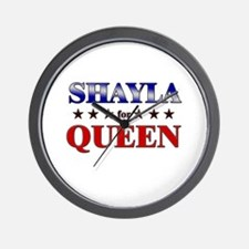 SHAYLA for queen Wall Clock