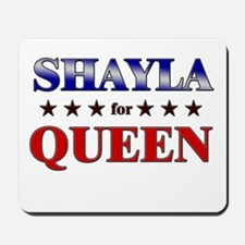 SHAYLA for queen Mousepad