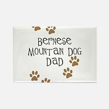 Bernese Mt. Dog Dad Rectangle Magnet