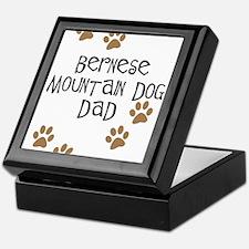 Bernese Mt. Dog Dad Keepsake Box