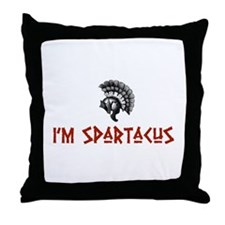 I'm Spartacus Throw Pillow