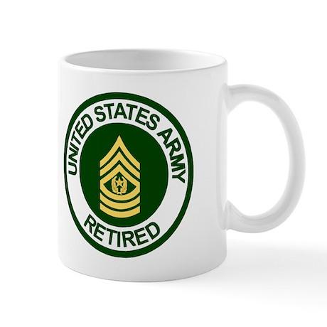 Command Sergeant Major <BR>Army Retired Mug 2