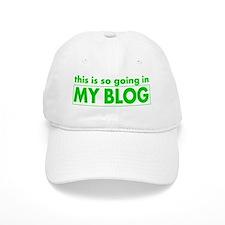 blog t-shirt Baseball Cap