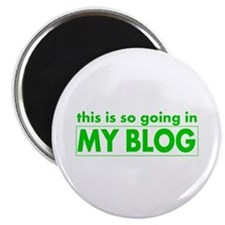 blog t-shirt Magnet