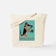 Shepherd's Pretzels Tote Bag