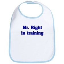Mr. Right Bib